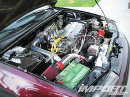 nissan altima coupe engine swap toyota 2jz engine swap question it import tuner magazine