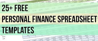 25 free spreadsheet templates to manage your daily finances