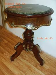 antique marble top pedestal table french antique round mahogany center table with single pedestal of