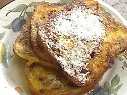 fraiser cuisine eggnog raisin toast noël en juillet the plate