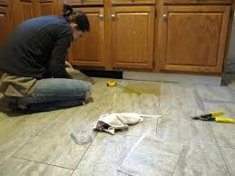 How To Tile Kitchen Floor by S The Best Kitchen Floor Tile Gallery And Vinyl For Pictures Trooque