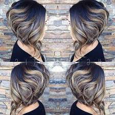 uneven bob for thick hair photo gallery of wavy inverted bob hairstyles viewing 11 of 15