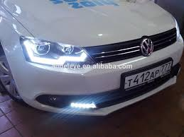 2011 2014 year vw new jetta mk6 led strip headlight bi xenon