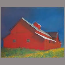red barn u2014 nancy stein art