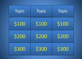 Easy Jeopardy Template Best Jeopardy Powerpoint Template Easy Jepordy Template