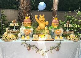 winnie the pooh baby shower decorations the most original ideas of winnie the pooh baby shower decorations