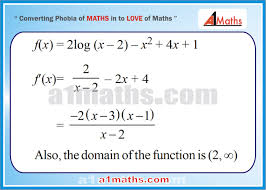 application of derivatives differential calculus maths iit jee