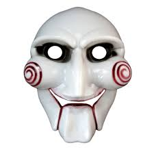 scary halloween saw mask yugster