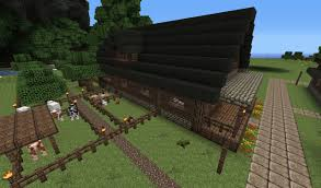 big farm house large farmhouse architecturally beautiful minecraft project