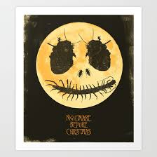 nightmare before poster print by