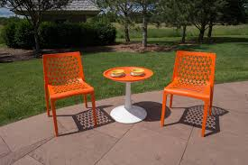 Molded Plastic Outdoor Chairs by The Milan Plastic Chair Strata Furniture