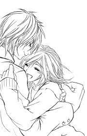 pictures anime couples sketches drawing art gallery