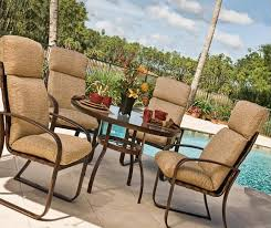 Pvc Patio Furniture Cushions Outdoor Sling Highback Pvc Patio Furniture Outdoor Patio Pvc High