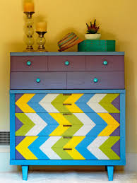 Painting Old Furniture by Upcycled Furniture Ideas Diy