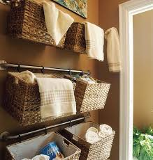 bathroom basket ideas our diy bathroom creative storage solutions aol real estate