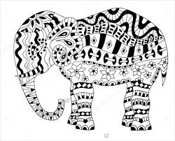 9 elephant coloring pages free sample format free