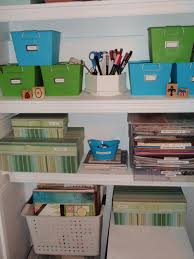 my great challenge craft closet how i organize scrapbooking