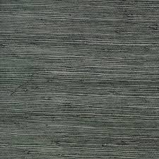 shop allen roth dark grey grasscloth unpasted textured wallpaper