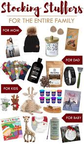 stuffers for the entire family stuffers