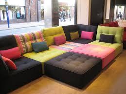 canapé modulable idée de canapé modulable en divers coloris pour décoration chic