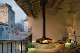 Outdoor Fireplace by Gyrofocus Outdoor Focus