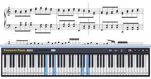 Tutorial Piano Canon   free christmas canon christmas song piano sheet music tutorial