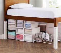 how to raise a bed how to raise a bed frame off the floor best 25 bed risers ideas on