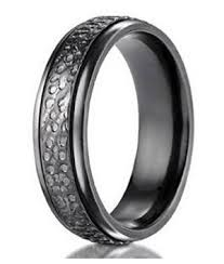 mens titanium rings titanium rings for men hammered design