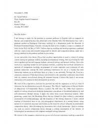 bunch ideas of cover letter for faculty position with additional