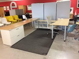 Deep Office Desk Maple Desk Set Office Outlet An Outlet Source For Herman