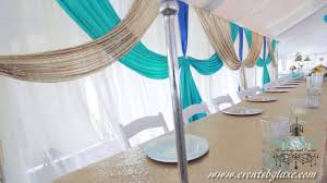 tent wedding decorations by luxe weddings and events youtube