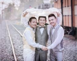 mariage thailande thaïlande mariage à 3 ou le concept du trouple