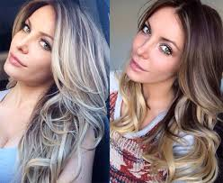 hair color light to dark crystal harris switches hair color from dark to light blond