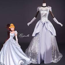 Ball Gown Halloween Costumes Aliexpress Buy Princess Cinderella Dress Halloween
