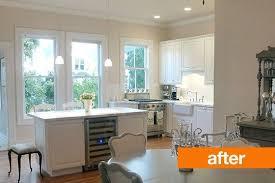 before and after kyle u0027s kitchen remodel valspar paint valspar