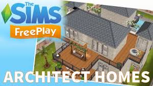 sims freeplay architect homes tour january 2017 youtube