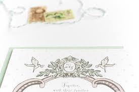 ashley scott u0027s romantic shabby chic wedding invitations