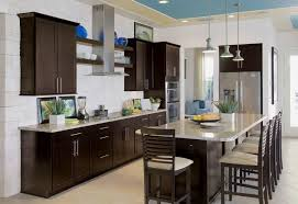 painting kitchen cabinets espresso before and after espresso paint color for kitchen cabinets modern kitchen