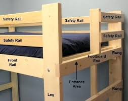 Bunk Bed Side Rails Bunk Bed Side Rails Its Important To Remember That The Top