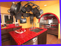 yellow and red kitchen ideas tile kitchen countertops pictures ideas from hgtv hgtv yellow