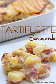 cuisine tartiflette tartiflette au fromage savoyard recettes faciles recettes rapides