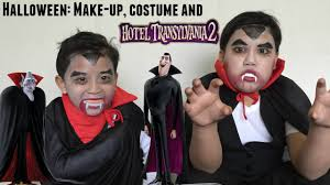 halloween make up costume and hotel transylvania 2 youtube
