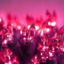 lights 100 pink tree mini lights 6 spacing