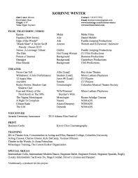 Web Producer Resume Resume U2013 Korinne Winter