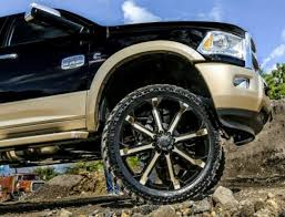 Used 24 Inch Rims 26 Inch All Terrain Wheels And Tires By Tuff A T Rides Magazine