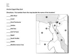 image result for ancient egypt map worksheets grade 6 egypt