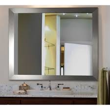 Wall Vanity Mirror Rayne Mirrors Inc American Made Rayne Modern Rectangle Wood