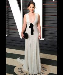 Vanity Fair After Oscar Party Emilia Clarke Arrives At The Vanity Fair Oscar Party In Beverly