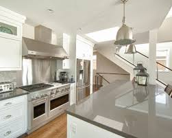 White Cabinets Dark Grey Countertops Gray Kitchen Countertops Contemporary For Kitchen Home Design