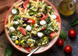 grilled italian pasta salad just a little bit of bacon